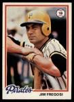 1978 Topps #323  Jim Fregosi  Front Thumbnail