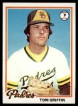 1978 Topps #318  Tom Griffin  Front Thumbnail