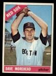 1966 Topps #135  Dave Morehead  Front Thumbnail