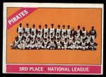 1966 Topps #404 DOT  Pirates Team Front Thumbnail