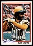 1978 Topps #685  Frank Taveras  Front Thumbnail