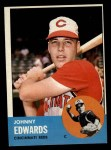 1963 Topps #178  Johnny Edwards  Front Thumbnail