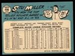 1965 Topps #499  Stu Miller  Back Thumbnail
