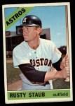 1966 Topps #106  Rusty Staub  Front Thumbnail