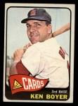 1965 Topps #100  Ken Boyer  Front Thumbnail