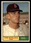 1961 Topps #419  Tom Borland  Front Thumbnail