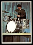 1964 Topps Beatles Color #28   Ringo on drums Front Thumbnail