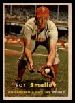 1957 Topps #397  Roy Smalley  Front Thumbnail