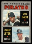 1970 O-Pee-Chee #141   -  Dave Cash / Johnny Jeter Pirates Rookies Front Thumbnail