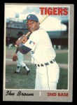 1970 O-Pee-Chee #152  Ike Brown  Front Thumbnail