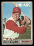 1970 O-Pee-Chee #347  Russ Snyder  Front Thumbnail