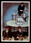 1964 Topps Beatles Color #50   Paul,George and Ringo perfoming Front Thumbnail