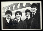 1964 Topps Beatles Black and White #123  Paul McCartney  Front Thumbnail