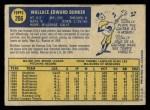 1970 O-Pee-Chee #266  Wally Bunker  Back Thumbnail