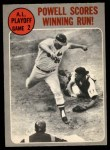 1970 O-Pee-Chee #200   -  Boog Powell 1969 AL Playoff - Game 2 - Powell Scores Winning Run Front Thumbnail