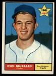 1961 Topps #466  Ron Moeller  Front Thumbnail