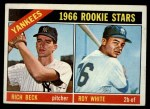 1966 Topps #234   -  Roy White / Rich Beck Yankees Rookies Front Thumbnail