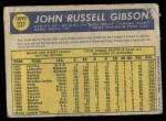 1970 O-Pee-Chee #237  Russ Gibson  Back Thumbnail