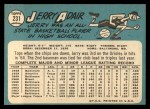 1965 Topps #231  Jerry Adair  Back Thumbnail