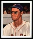 1950 Bowman REPRINT #153  Walt Masterson  Front Thumbnail