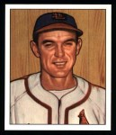 1950 Bowman REPRINT #238  Vernal 'Nippy' Jones  Front Thumbnail