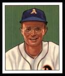1950 Bowman REPRINT #105  Bob Dillinger  Front Thumbnail
