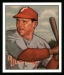 1950 Bowman REPRINT #228  Bill Nicholson  Front Thumbnail