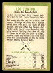 1963 Fleer #6  Lou Clinton  Back Thumbnail