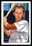 1952 Bowman REPRINT #92  Eddie Waitkus  Front Thumbnail