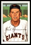 1952 Bowman REPRINT #234  Fred Fitzsimmons  Front Thumbnail