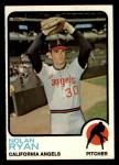 1973 Topps #220  Nolan Ryan  Front Thumbnail