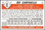 1953 Bowman REPRINT #46  Roy Campanella  Back Thumbnail