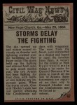 1962 Topps Civil War News #67   Deadly Duel Back Thumbnail