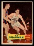 1957 Topps #5  Bill Sharman  Front Thumbnail