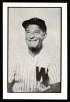 1953 Bowman B&W Reprint #46  Bucky Harris  Front Thumbnail