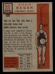 1957 Topps #50  Richie Regan  Back Thumbnail