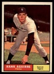 1961 Topps #324  Hank Aguirre  Front Thumbnail