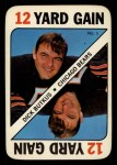 1971 Topps Game Inserts #1  Dick Butkus  Front Thumbnail