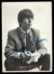 1964 Topps Beatles Black and White #52  George Harrison  Front Thumbnail