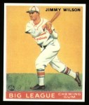 1933 Goudey Reprint #37  Jimmy Wilson  Front Thumbnail