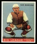 1933 Goudey Reprints #41  Gus Mancuso  Front Thumbnail