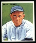 1933 Goudey Reprint #125  Bill Terry  Front Thumbnail