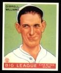 1933 Goudey Reprint #82  Dib Williams  Front Thumbnail