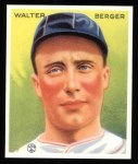 1933 Goudey Reprint #98  Wally Berger  Front Thumbnail
