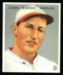 1933 Goudey Reprint #110  Goose Goslin  Front Thumbnail