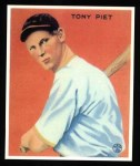 1933 Goudey Reprints #228  Tony Piet  Front Thumbnail