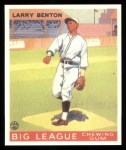 1933 Goudey Reprints #45  Larry Benton  Front Thumbnail