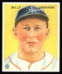 1933 Goudey Reprint #212  Billy Urbanski  Front Thumbnail