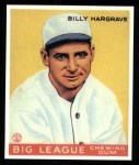 1933 Goudey Reprint #172  Billy Hargrave  Front Thumbnail