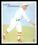 1933 Goudey Reprint #122  Alvin Crowder  Front Thumbnail